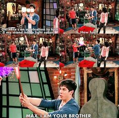 Seriously Wizards of Waverly Place is the best show Disney has ever done! The shows now are just weird.