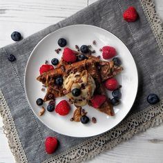 gloriouslydelicious waffles for healthy breakfast
