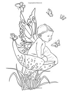 Fairy Coloring Pages Fantasy Coloring Pages