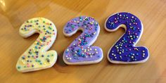 Sophia the First Birthday Cookies for Tessa's 2nd b'day. 2017