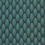 Tissu d'ameublement jacquard à motif Art Déco vert emeraude Tuile Turquoise, Motif Art Deco, Cobalt, Abstract Backgrounds, Art Deco