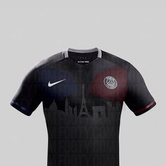 And yet another #Cityscape concept shirt!Here's our take on the @psg Third shirt from 2015-16! What shirts would you like to see? . . . #footydotcom #fcfc #footy #footballboot #soccercleats #football #soccer #futbol #futbolsport #cleatstagram #totalsoccerofficial #fussball #bestoffootball #rldesignz #footyfeature #concept #footballshirt #design #paris #PSG #parisstgermain #ParisWorldwide #psgcolors