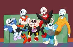 """#wattpad #fanfiction A continuation of """"Undertale Sin"""" I OWN NONE OF THIS! (unless I say it is) WARNIG!!!! -FULL OF SIN -18+ (or younger sinners that don't give a shit about not being old enough, like me)"""