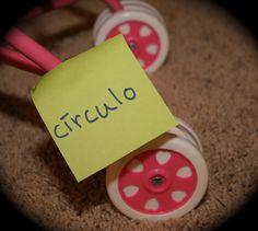 teach kids spanish sticky notes