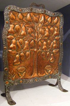 Arts and Crafts Fire Screen by John Pearson
