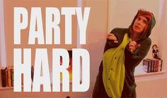 Party hardy with the Danosaur! #danisnotonfire (gif)