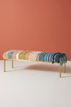 All Roads Zahara Ottoman | Anthropologie