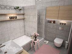 Návrh interiéru bytu Romantika v akcii, pohľad na sprchový kút kúpeľne Alcove, Bathtub, Bathroom, Nostalgia, Standing Bath, Washroom, Bathtubs, Bath Tube, Full Bath