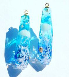 Kawaii Jewelry, Cute Jewelry, Diy Jewelry, Jewelery, Kpop Anime, Resin Jewlery, Diy Resin Crafts, Magical Jewelry, Resin Charms