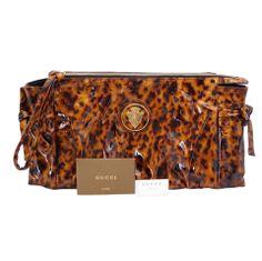GUCCI bag tortoise very soft patent leather Clutch wristlet NEW thumbnail 1 Gucci Handbags Outlet, Burberry Handbags, Handbags Online, Luxury Handbags, Mcm Handbags, Purses Online, Burberry Bags, Hermes Bags, Fendi Bags