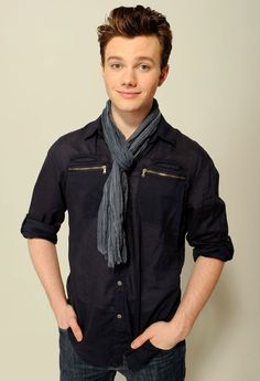 The glorious Chris Colfer!