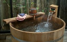 Outdoor Bathrooms 487936940881644676 - Japanese soaking tub wood Source by paddiemoa