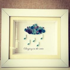 quilling paper wall art home decor