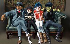 ゴリラズ、2018年にアニメ・シリーズをリリースすることを発表   NME Japan