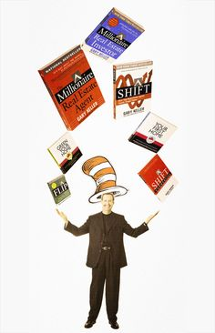 Thinking to Pin, and Pinning to Think - Gary Keller, shift, shift commercial, green your home, mrei, flip, KellerINK, mrea, your first home, dr. seuss, reading, book list, social