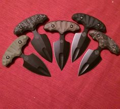 McDaniel - multiple push daggers.