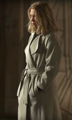 Léa Seydoux trench coat designer spectre - Google Search