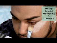 How to Highlight and Contour For a Thinner Face - Swagbucks TV Face Contouring, Contour Makeup, Contouring And Highlighting, Kiss Makeup, Love Makeup, Makeup Tips, Hair Makeup, Contouring Tutorial, Eyebrow Tutorial