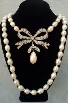 Rare Vintage 1980s Chanel Necklace.  Anyone have a few thousand they could spare?