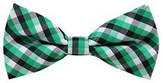 OCIA® Boy's T/C Cotton Plaid Handmade Bow Tie Green -TD44... https://www.amazon.com/dp/B01AQRBZQ4/ref=cm_sw_r_pi_dp_FDfHxbC2EHN2H