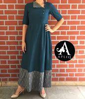 Style Heave: Neck Design For Women Charmed Dress Up Pakistani Dresses, Indian Dresses, Indian Outfits, Kurta Patterns, Dress Patterns, Salwar Designs, Blouse Designs, Chudi Neck Designs, Indian Attire