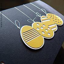 Kartka wielkanocna - Dyskusja o wyższości Świąt Wielkiej Nocy nad Świętami Bożego Narodzenia na razie zakończona - # Diy Easter Cards, Easter Greeting Cards, Easter Crafts For Kids, Diy Cards, Tarjetas Diy, Birthday Gift Cards, Diy Ostern, Thanks Card, Cricut Cards