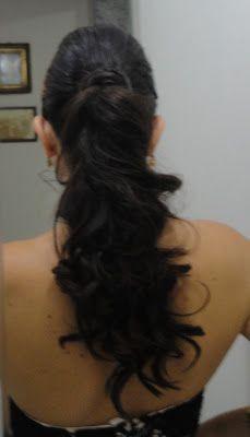 La vida rosa de linda: Penteado para casamento / Peinado para matrimonio
