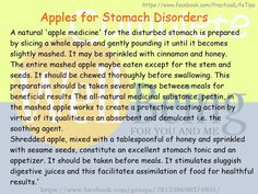 Practical Life Tips For You And Me: #Apples for #Stomach #Disorders