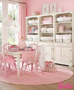 Shabby Cottage chic little girl room Cottage Shabby Chic, Shabby Chic Bedrooms, Shabby Chic Homes, Shabby Chic Decor, White Cottage, Casas Shabby Chic, Estilo Shabby Chic, Pink Room, Kids Room Design