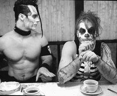 black and white, doyle, horror punk, michale graves, misfits