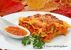 Manus Küchengeflüster: Lasagne vom Hokkaido-Kürbis mit Aprikosen-Chutney