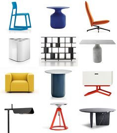 Established in British design duo Barber & Osgerby have worked across a variety of disciplines, including industrial design, interiors,. Small Apartments, Barber, Color Pop, Jay, Furniture Design, Consoles, Addiction, Articles, Display
