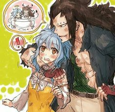 Fairy Tail Gajeel and Levy