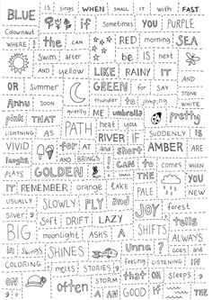 Sattumaruno englanniksi! Teaching English, Grammar, Meant To Be, Poetry, Education, Sayings, Ideas, Lyrics, Poetry Books