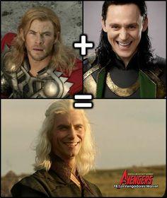 Thor + Loki = Viserys!