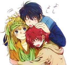Hak, Yona, and Zeno