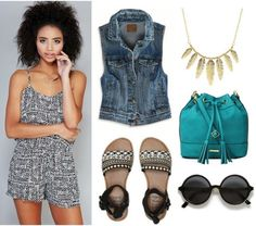 Fabulous Find of the Week: Wet Seal Printed Romper - College Fashion