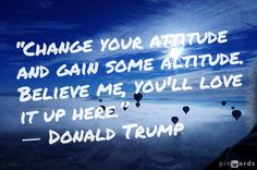 #change #attitude #bepositive
