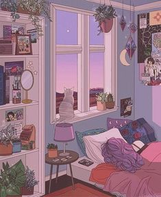 Drawing inspirational pictures 42 Ideas for 2019 Anime Scenery Wallpaper, Aesthetic Pastel Wallpaper, Aesthetic Wallpapers, Wallpaper Backgrounds, Wallpaper Desktop, Pink Wallpaper, Aesthetic Backgrounds, Wallpaper Quotes, Aesthetic Drawing