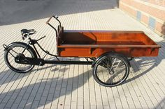 DIY Front Cargo Tricycle (trike) / Bakfiets
