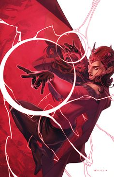 Scarlet Witch #4 Women of Power Variant - Jamal Campbell