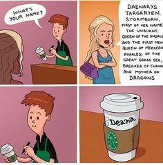 Game of Thrones & Starbucks