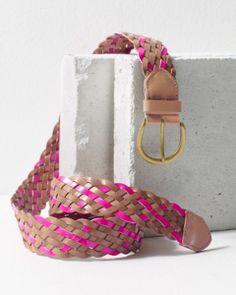 Belgo Lux Braided Belt