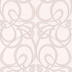Premier Jazz, Homebase white & silver wallpaper