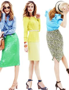 J.Crew spring in sherbet colors