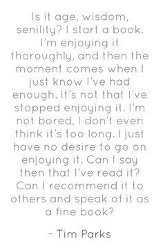 Acabar un libro o no