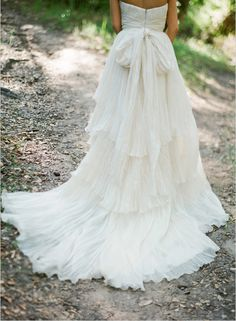 flowing wedding dress - Lindee_Daniel_Wedding_Gown