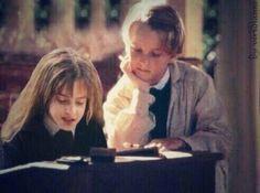 Hermione and Draco (Emma Watson and Tom Felton) still kinda ship it