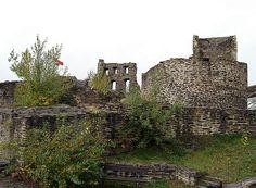 Castle ruins, Kastellaun, Germany