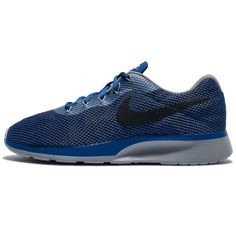 online store 64036 e01c4 Nike Tanjun Racer Mens Running Shoes Blue Jay Black Wolf Grey 921669 401   Nike